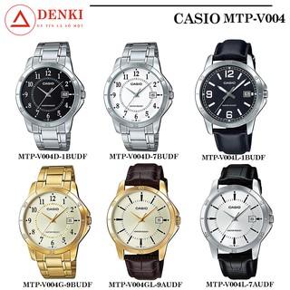 Đồng hồ nam Casio chính hãng Anh Khuê MTP-V004 (Dây da và thép) (42mm) Series MTP-V004D, MTP-V004L MTP-V004GL thumbnail