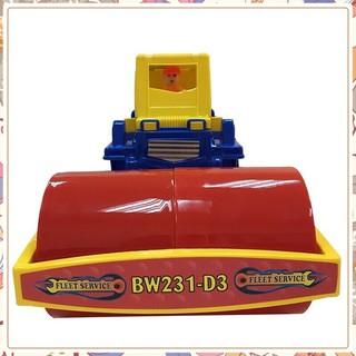 (Giá Không Tưởng)Xe lu đồ chơi chất lượng tốt cho trẻ em chứa đồ chơi biển(Nhựa chợ lớn an toàn cho bé)