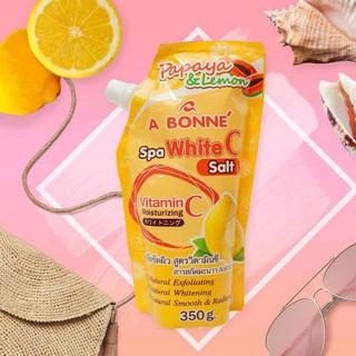 Muối tắm tẩy tế bào chết hương cam Abone Spa white C 350g