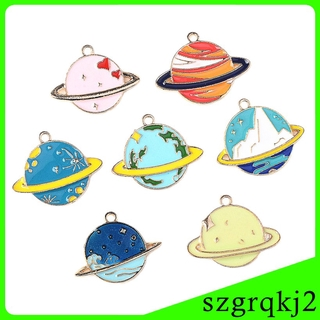 7 Pieces Moon Charms Pendants DIY Necklace Bracelet Earring Jewelry Findings