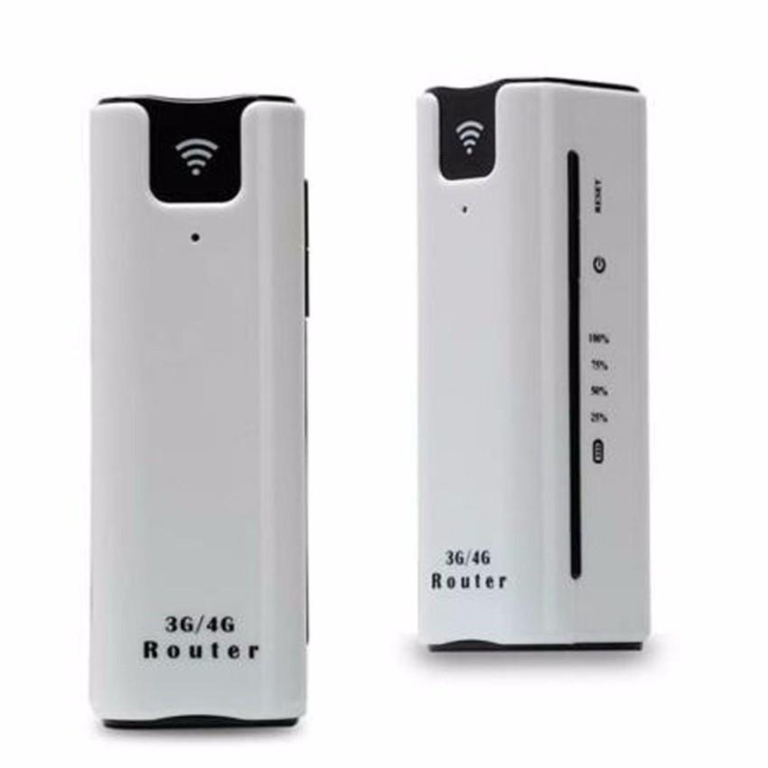 Bộ phát wifi 3g 4g router kiêm sạc dự phòng