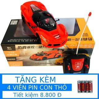 Siêu Xe Ferrari Điều Khiển 4 Chiều Kiểu Dáng Thể Thao (XDK595)