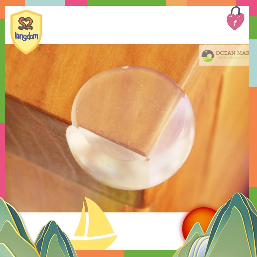 Sản Phẩm Combo  Bộ 4 Miếng Nhựa Dẻo Bịt Góc Bàn Trong Suốt  KD2029