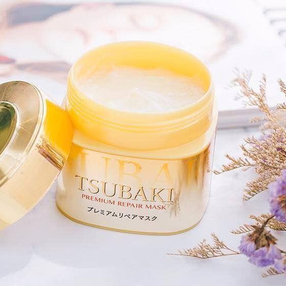 (cao cấp) Ủ tóc Tsubaki vàng Nhật Bản