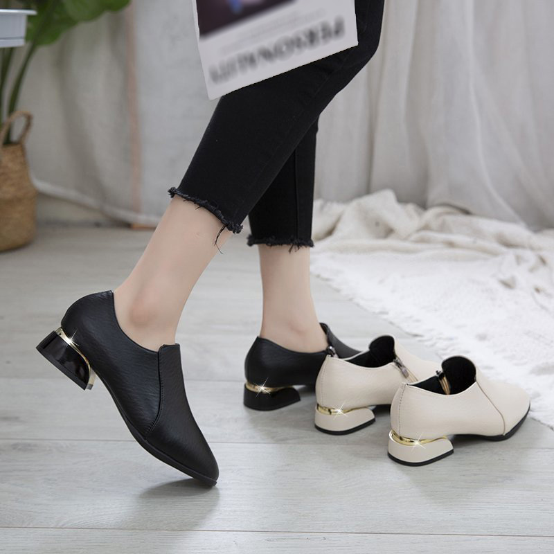 Giày Búp Bê Đế Bằng Xinh Xắn Dành Cho Nữ