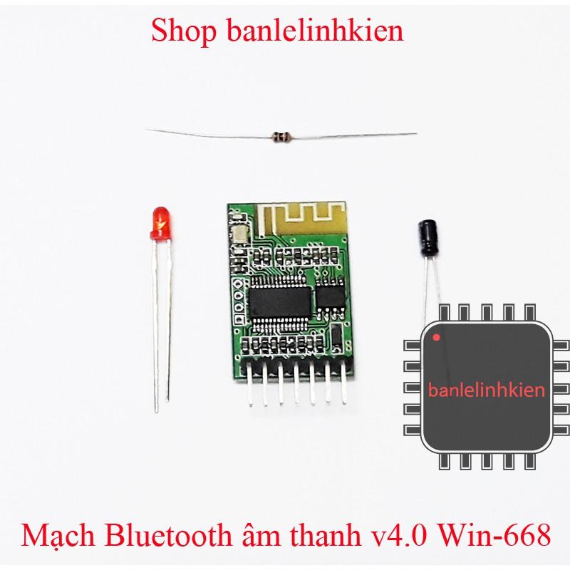 Mạch Bluetooth âm thanh v4.0 Win 668