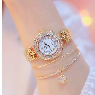 [HÀNG CHÍNH HÃNG] Đồng hồ nữ Bee Sister FA1559 dây thép đặc ko gỉ size to sang trọng thumbnail