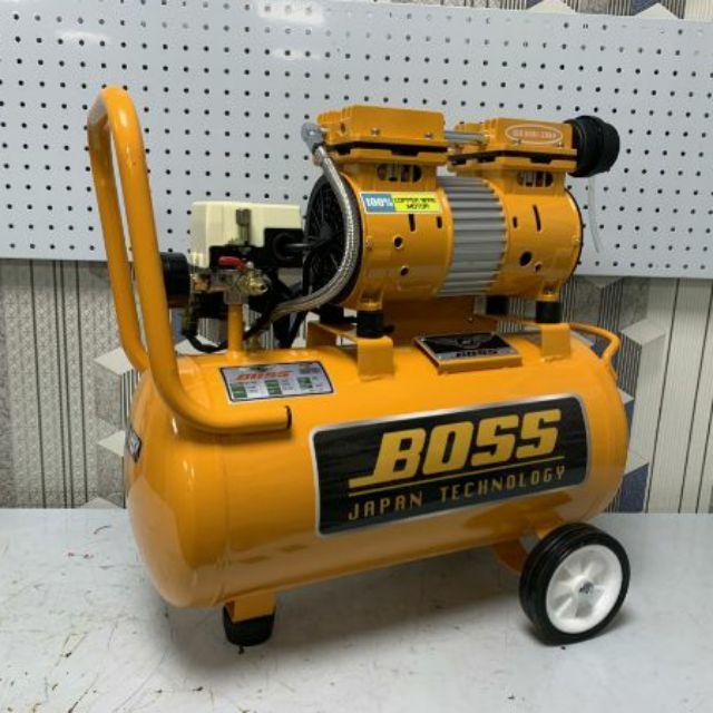 máy nén khí boss 24_30lit không dầu không tiếng ồn.