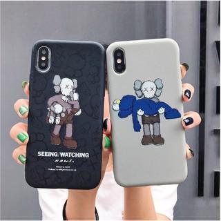 (Hàng nhập) Ốp Iphone nhựa dẻo TPU hình KAWS chống trượt, tản nhiệt -KAWS005 thumbnail