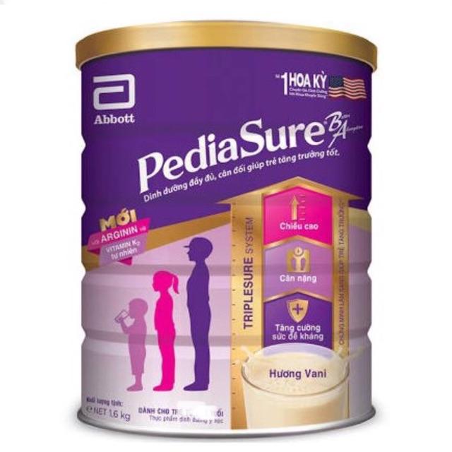 (HCM) Sữa Pediasure 1600g mẫu mới nhất Date 2021