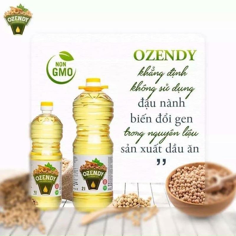 1Lit Dầu đậu nành Ozendy của Ukraina