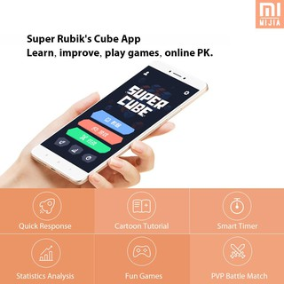 M&J Xiaomi Mijia Giiker i2 Magnetic Cube Puzzle 2x2x2 4.9cm Speed Professional Square Magic Cube Puz