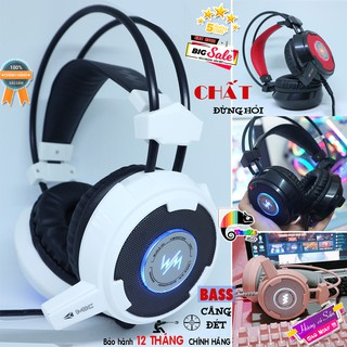 Tai nghe Game Thủ, có Mic, Wang Ming 8900L Tai Nghe Gaming, Tai nghe chơi game có Led I Headphone WangMing 8900L LED thumbnail