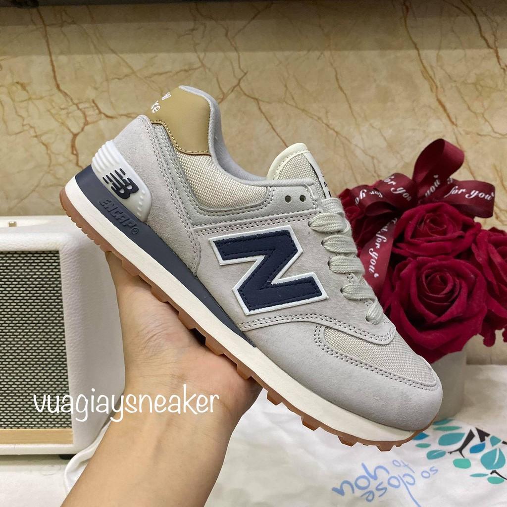 Giày thể thao sneaker NB 574 xanh than