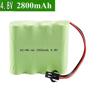 [Mã TOYJAN hoàn 20K xu đơn 50K] Pin sạc Ni-MH 4.8v 2800mAh dùng cho xe ô tô điều khiển cổng nối SM thumbnail