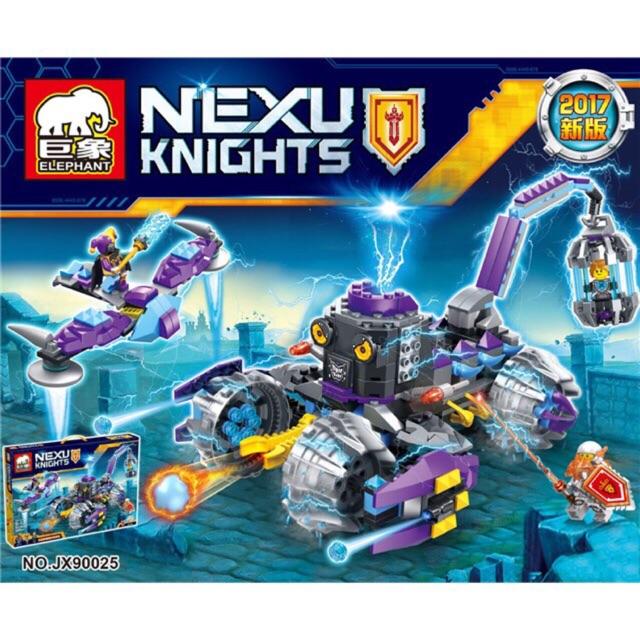 Lego Nexo JX90025- Cỗ xe tù của Jestro