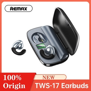TWS-17 Remax Tai Nghe Không Dây Chân Thực, Tai Nghe Bluetooth 5.0 Tai Nghe Thể Thao Bán Trong Tai Kẹp Tai Tai Nghe Hiển thumbnail