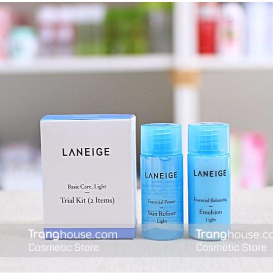 Bộ Dưỡng Da Laneige Basic Care Light Trial Kit 2 Items - 2394395 , 60859437 , 322_60859437 , 100000 , Bo-Duong-Da-Laneige-Basic-Care-Light-Trial-Kit-2-Items-322_60859437 , shopee.vn , Bộ Dưỡng Da Laneige Basic Care Light Trial Kit 2 Items