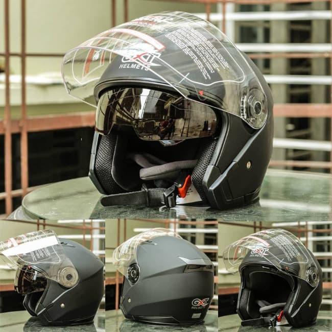 Mũ bảo hiểm GXT 3/4 2 kính - Chất lượng đủ size