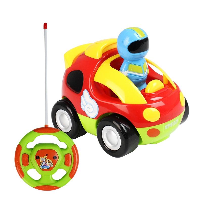 MoFun 508A Điều khiển từ xa không dây cho trẻ em Đồ chơi Xe hơi Âm nhạc Động cơ Phim hoạt hình