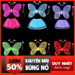 [ Sale Off ] bộ cánh bướm thiên thần trung thu cho bé thời trang kb