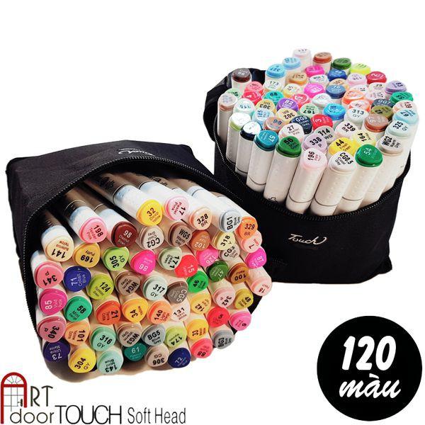 [ARTDOOR] Bút Marker Touch Soft Head 120 màu (tặng túi vải) - 3390346 , 1146174001 , 322_1146174001 , 1140000 , ARTDOOR-But-Marker-Touch-Soft-Head-120-mau-tang-tui-vai-322_1146174001 , shopee.vn , [ARTDOOR] Bút Marker Touch Soft Head 120 màu (tặng túi vải)