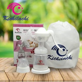 Máy hút sữa Kichilachi phiên bản mới lực hút mạnh tặng 6 túi trữ sữa, máy vắt sữa bằng tay
