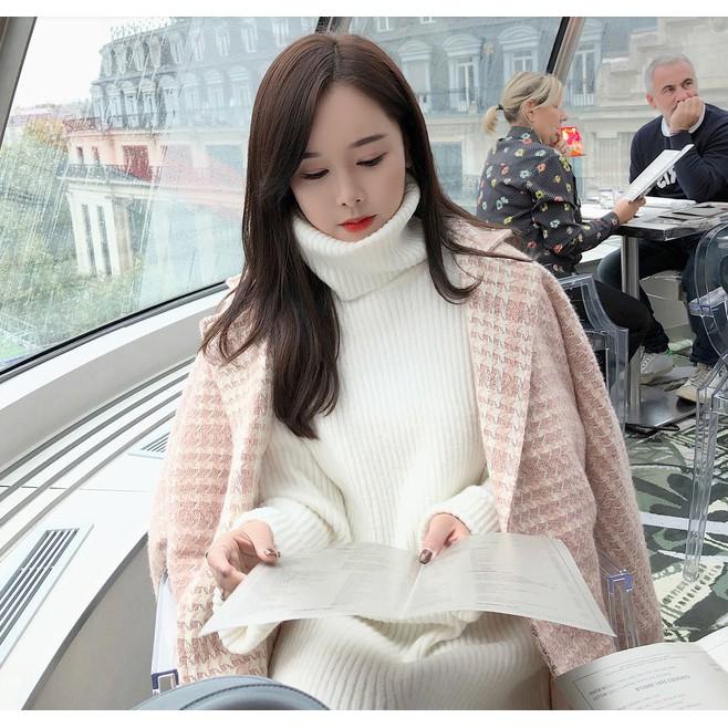 [ORDER] Váy len cổ lọ săn sale dáng dài Hàn Quốc PI002