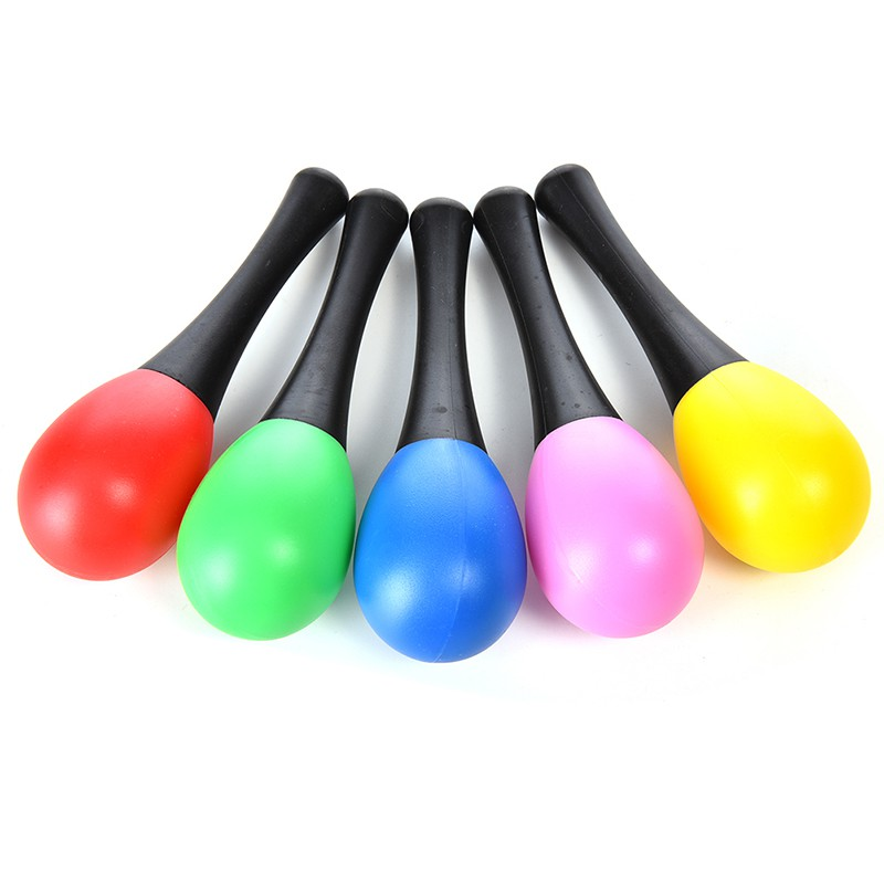 XYVN 1 Pcs Sand Hammer Plastic Rattle Musical Instrument Percussion Instrument T