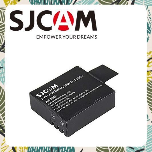 [Hàng Chất]Pin Sạc Cho Camera Hành Trình SJCAM SJ4000 - Hàng chính hãng