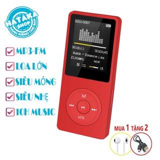 Yêu ThíchMáy nghe nhạc mp3 JS-01 siêu mỏng đa chức năng tặng tai nghe và dây sạc