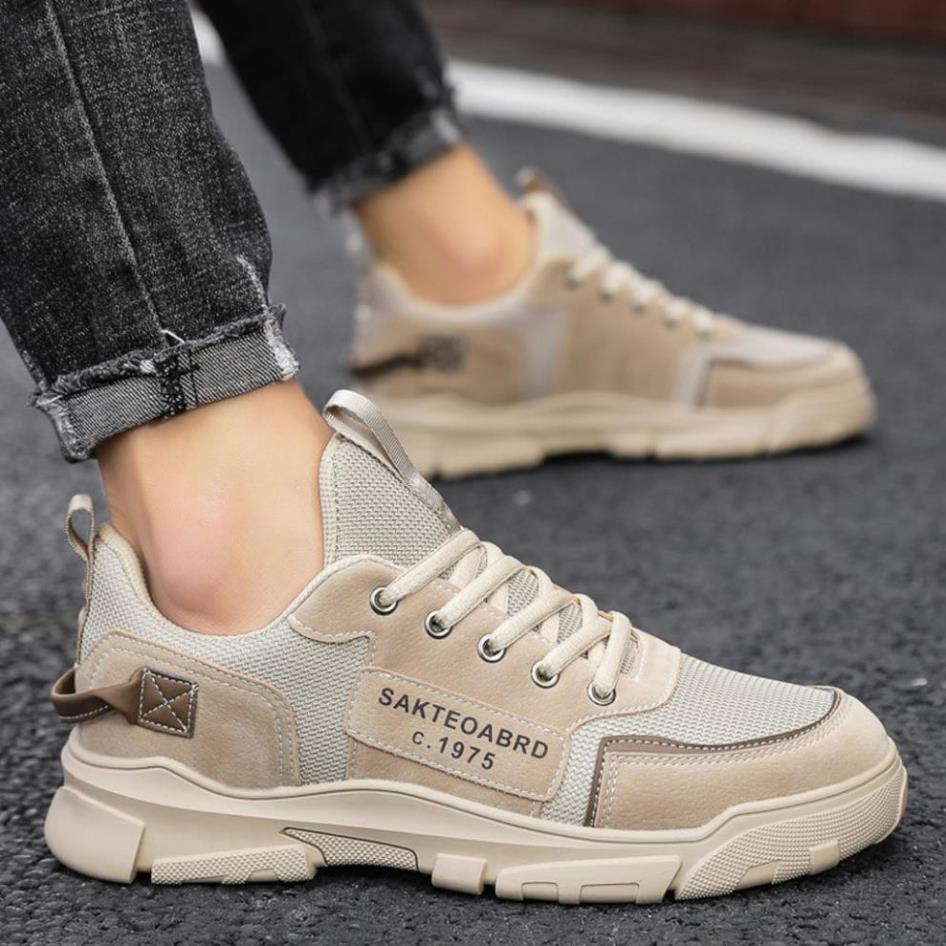 Giày Sneaker Nam [ FREESHIP ] Giày Thể Thao Nam cool ngầu trẻ trung nam tính - G37