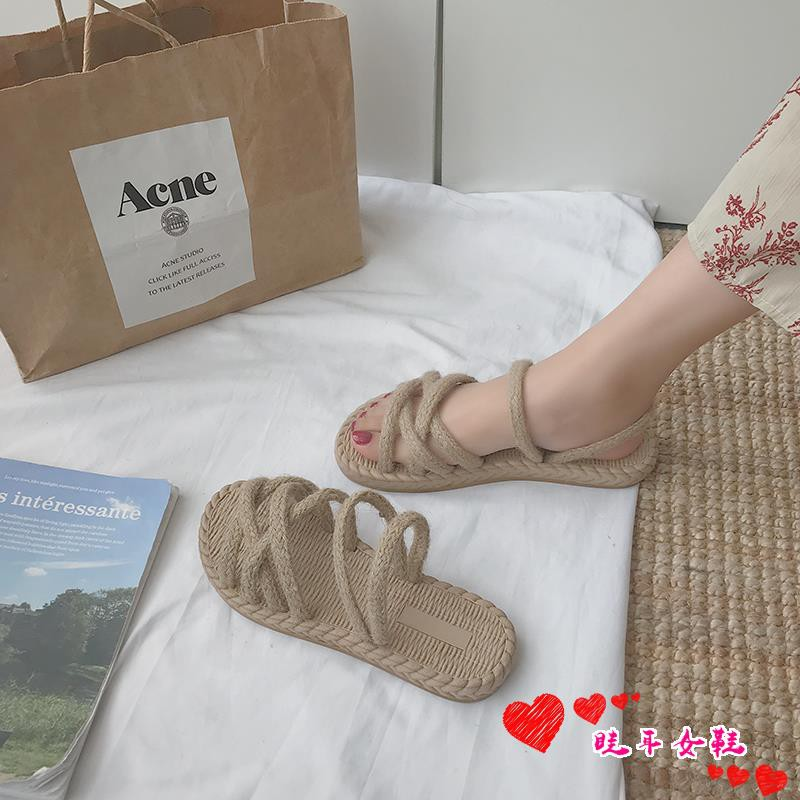 ☆spot stock ☆Net red sandals and slippers women wear 2019 ne