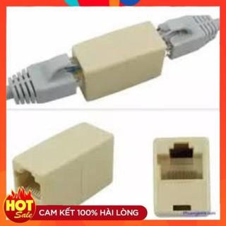 [Chính Hãng] Đầu nối dây mạng 1 ra 1 RJ45- Cầu nối mạng kết nối 2 sợi dây lan thumbnail