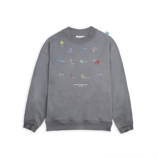 LEVENTS SWEATER 0.5 FLORAL/ GREY