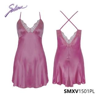 Đồ Ngủ Sexy Viền Ren Màu Hồng Gorgeous By Sabina SMXV1501PL thumbnail