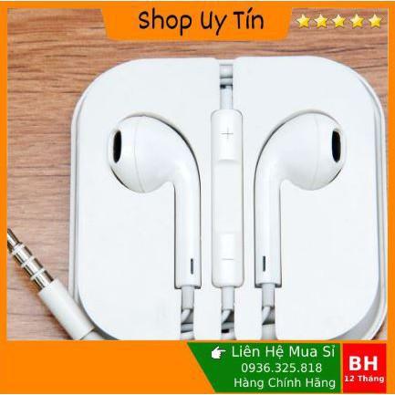 Tai nghe iphone 6 6s chính hãng thích hợp ip6 ip6s 6splus 6plus bảo hành 1 năm freeship FS50K