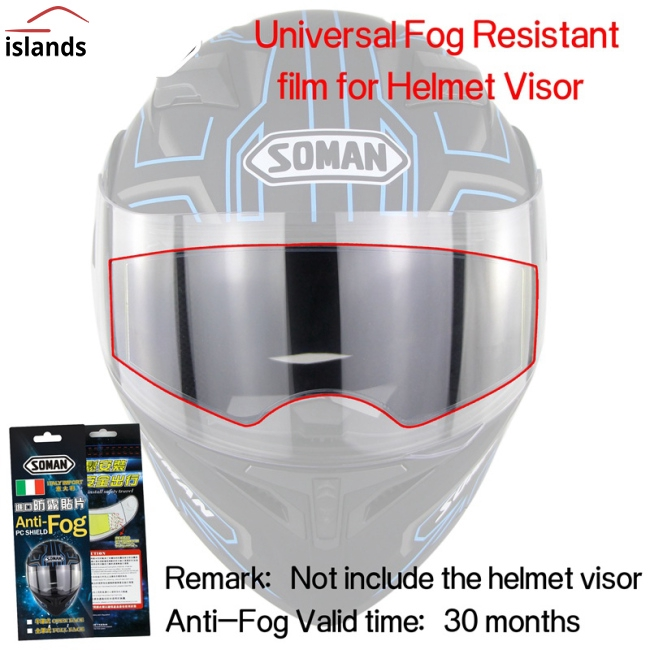 Kính chống bẩn cho mũ bảo hiểm xe máy