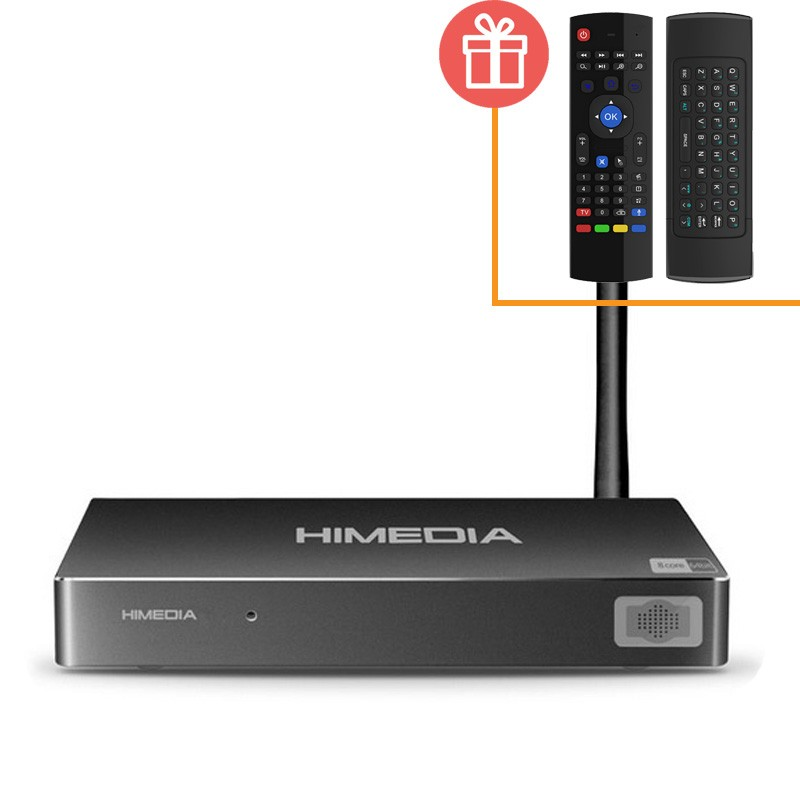 Tivi Box HIMEDIA H8 Octa Core, 2G/16GB, Android 5.1