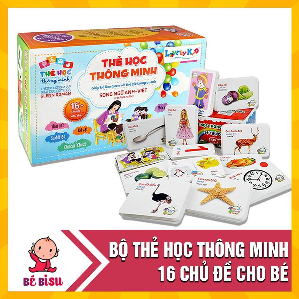 Bộ Thẻ Học Thông Minh Song Ngữ 16 Chủ Đề Cho Bé - 23060810 , 3712008362 , 322_3712008362 , 89000 , Bo-The-Hoc-Thong-Minh-Song-Ngu-16-Chu-De-Cho-Be-322_3712008362 , shopee.vn , Bộ Thẻ Học Thông Minh Song Ngữ 16 Chủ Đề Cho Bé