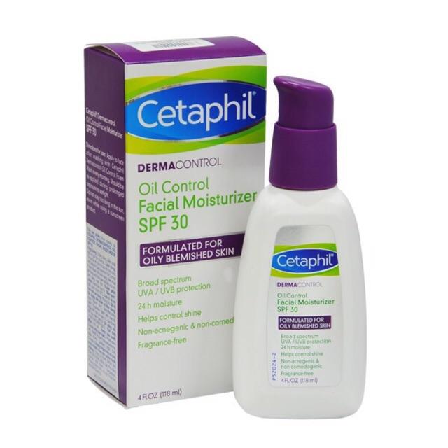 Kem chống Nắng kết hợp dưỡng da dành cho da dầu mụn Cetaphil Derma ...