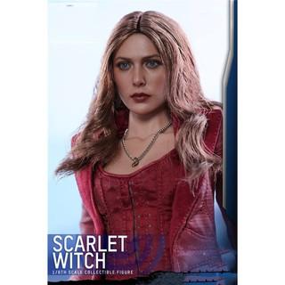 """Sưu tầm tỷ lệ 1: 6 Hình Elizabeth Olsen Scarlet Witch Head Sculpt 3.0 Đồ chơi mô hình khắc đầu nữ cho cơ thể hình 12 """""""