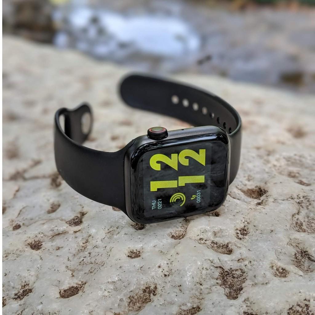Đồng hồ thông minh W34 seri 4 kết nối bluetooth kích thước 44mm đo nhịp tim tiện dụng