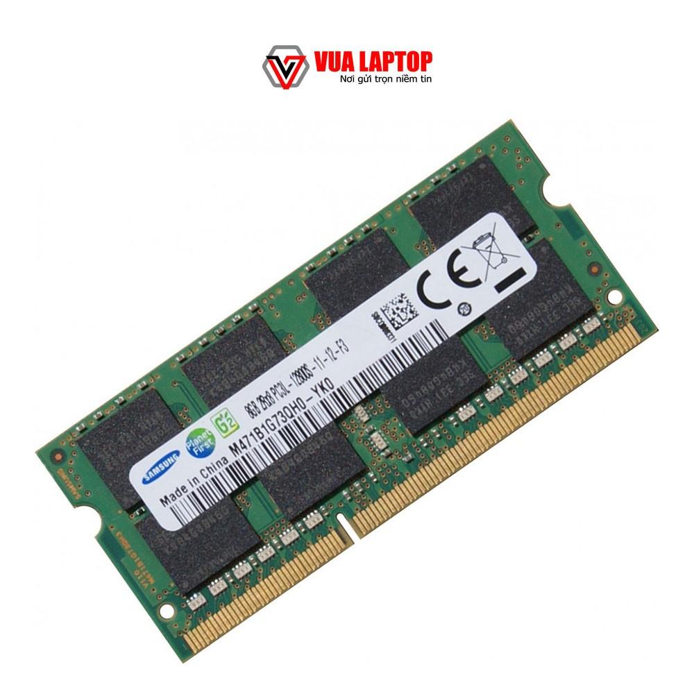 Ram laptop DDR3 8GB PC3L-12800s bus 1600MHz bảo hành 1 đổi 1