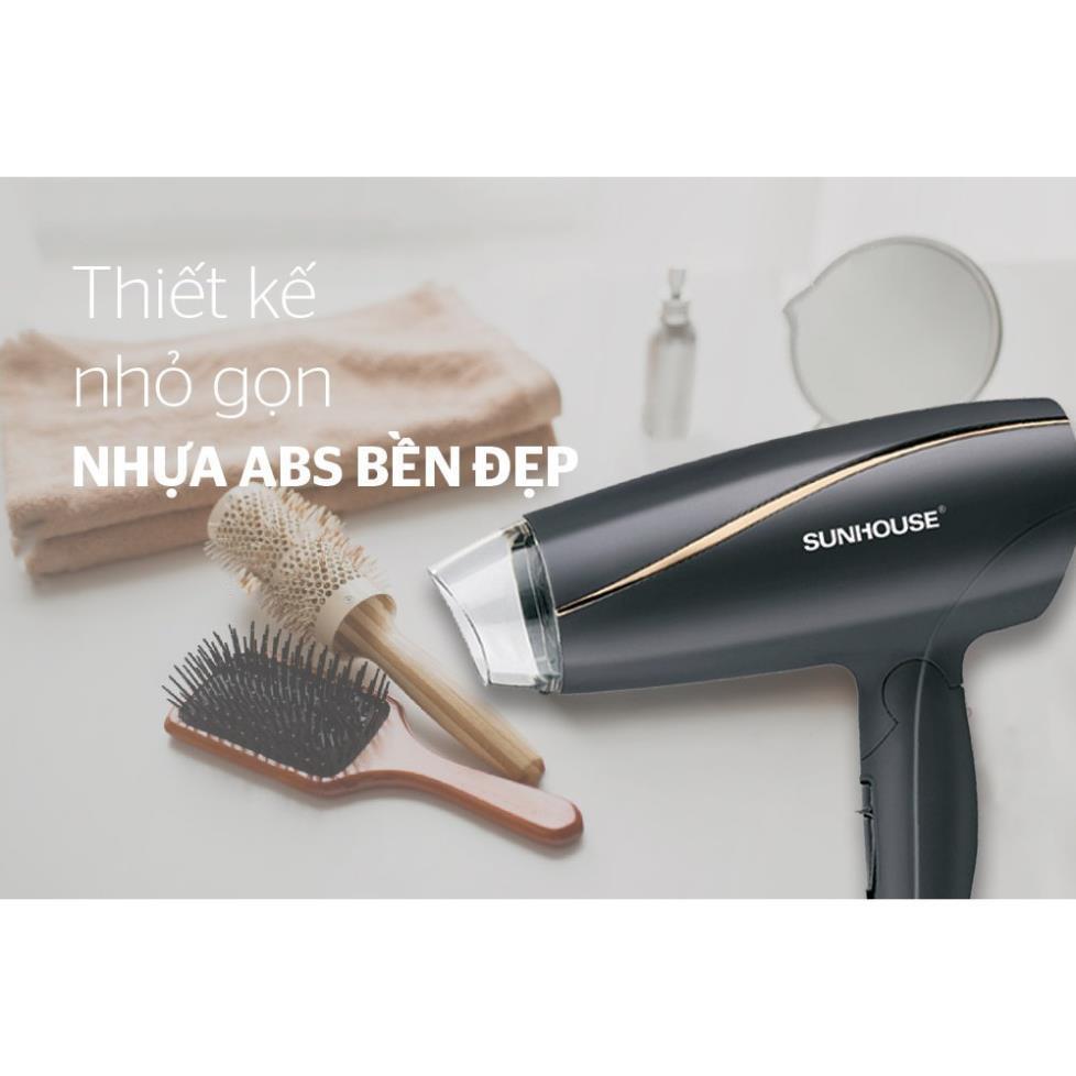 Review máy sấy tóc sunhouse shd2306 đen [hàng chính hãng 100%]
