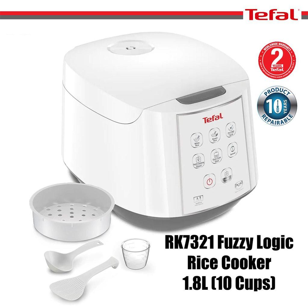 Nồi cơm điện tử Tefal RK732168 dung tích 1.8 lít công suất 750W - Hàng chính hãng, bảo hành 24 tháng