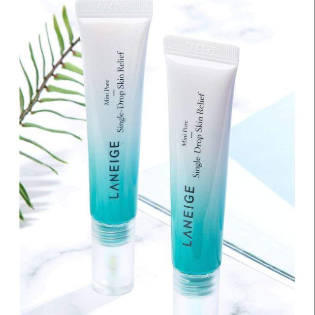 Tinh Chất Đặc Trị Thu Nhỏ Lỗ Chân Lông Laneige Mini Pore Single Drop Skin Relief 15ml