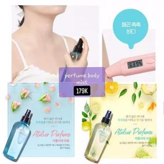 Xịt thơm BODY MIST [FREESHIP] Xịt thơm toàn thân A pieu Atelier Perfume body mist thumbnail