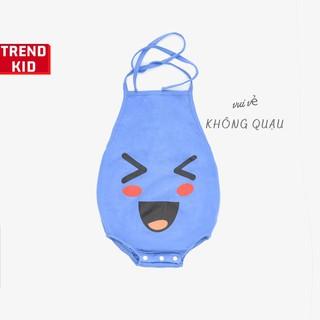 Yếm đào mặt cười cho bé trai, bé gái, trẻ sơ sinh màu xanh đậm BABYWANT thumbnail