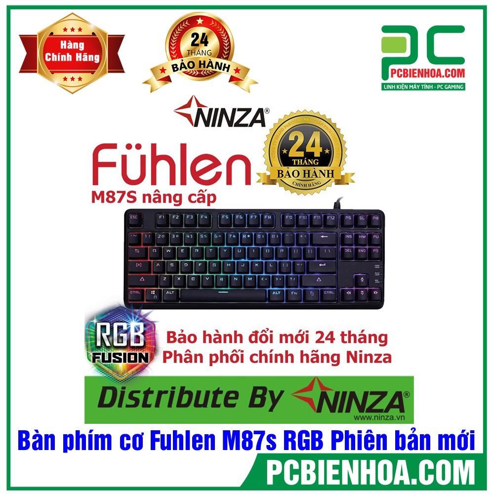 Bàn phím cơ Fulhen M87S Gaming mới chính hãng